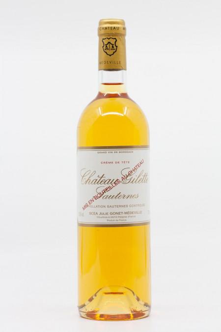 Château Gilette - Sauternes Crème de Tête 1996