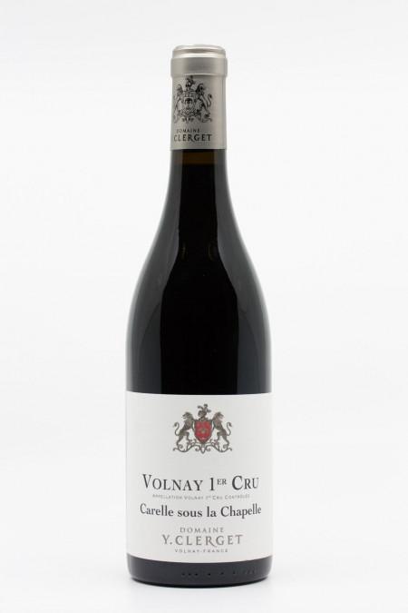 Y. Clerget - Volnay 1er Cru Carelle Sous La Chapelle 2018
