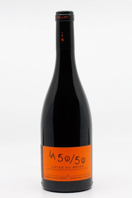 Anne Gros et Jean Paul Tollot - La 50/50 IGP Côtes du Brian 2018