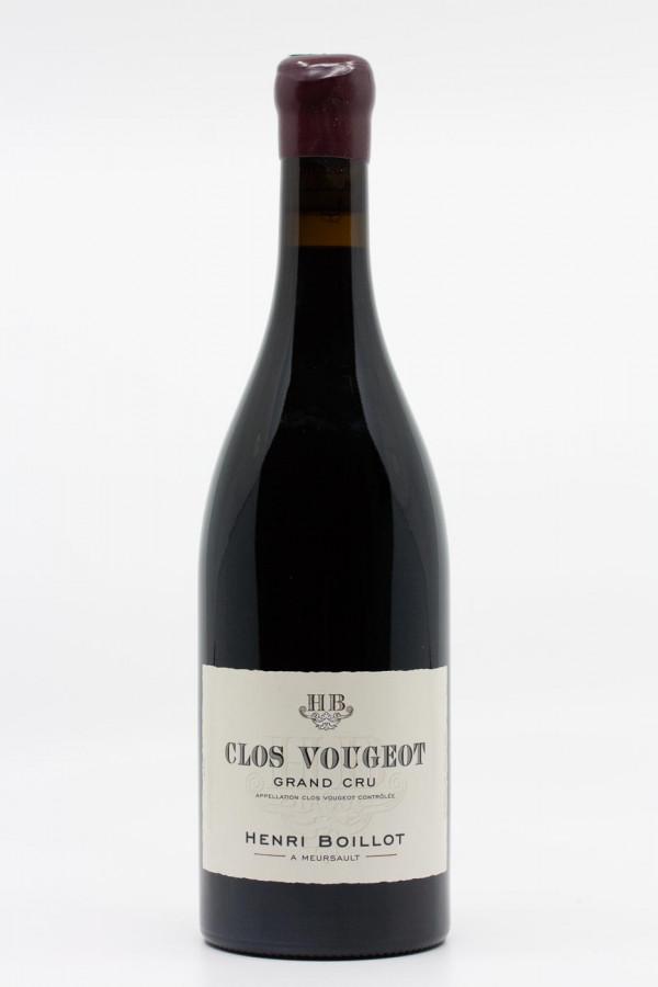 Maison Henri Boillot - Clos Vougeot Grand Cru 2017