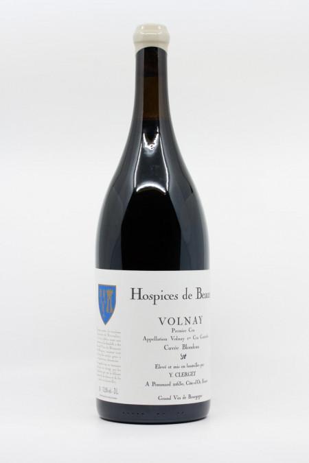 Y. Clerget - Hospices de Beaune - Volnay 1er Cru Cuvée Blondeau 2018