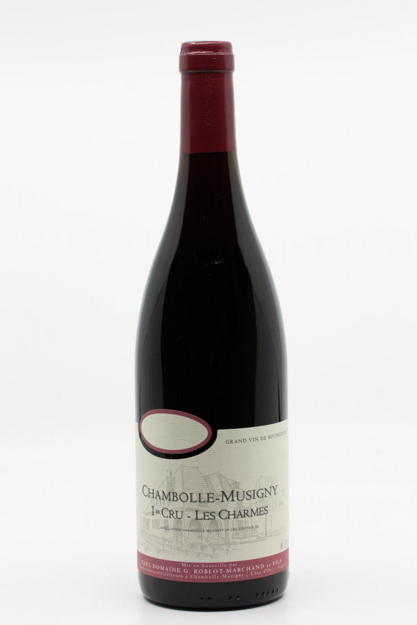 Roblot - Chambolle Musigny 1er Cru Charmes 2012