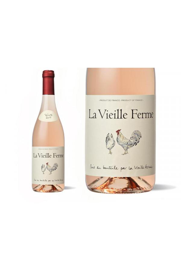 Famille Perrin - Côtes du Luberon - La vielle ferme - Caisse de 6 bouteilles