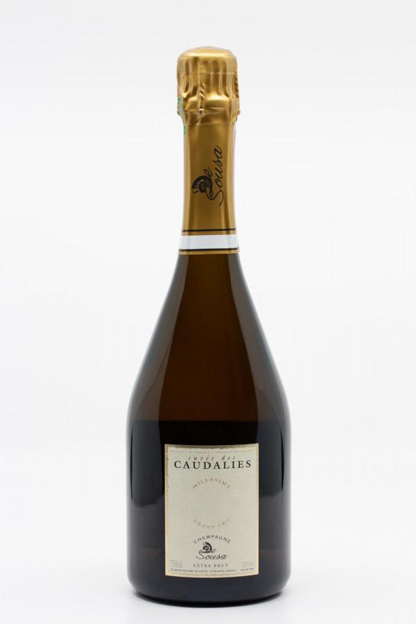 De Souza - Champagne Extra Brut Grand Cru Blanc de Blancs Cuvée des Caudalies Bouteille