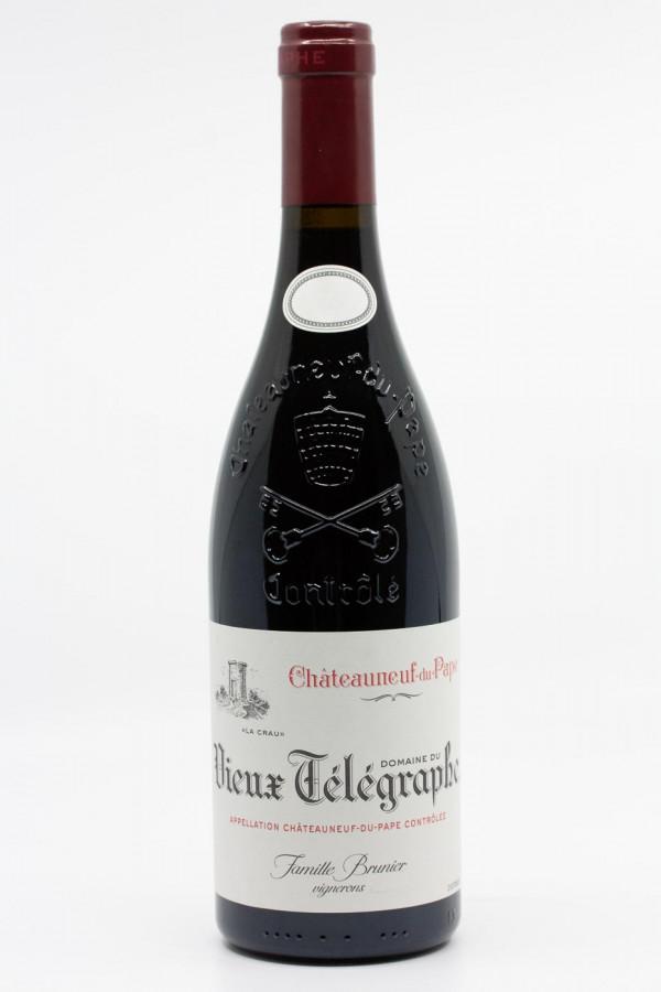 Vieux Télégraphe - Chateauneuf du Pape Domaine du Vieux Télegrapge La Crau 2018