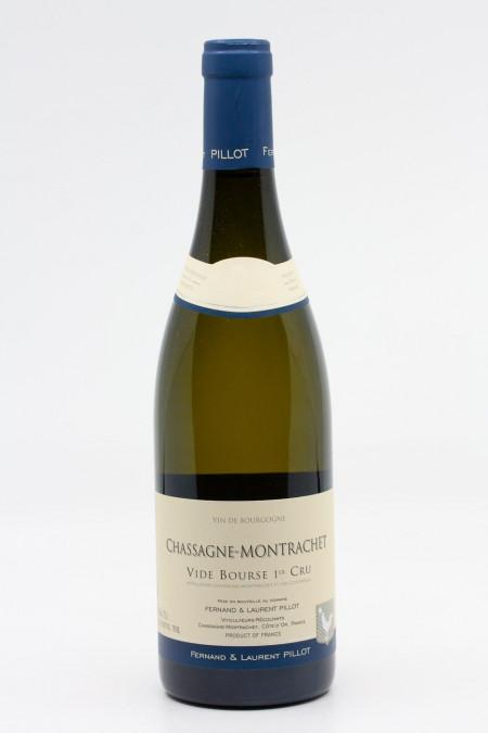 Fernand & Laurent Pillot - Chassagne Montrachet 1er Cru Vide Bourse 2018