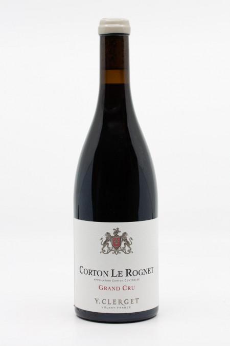 Y. Clerget - Corton Le Rognet Grand Cru 2019