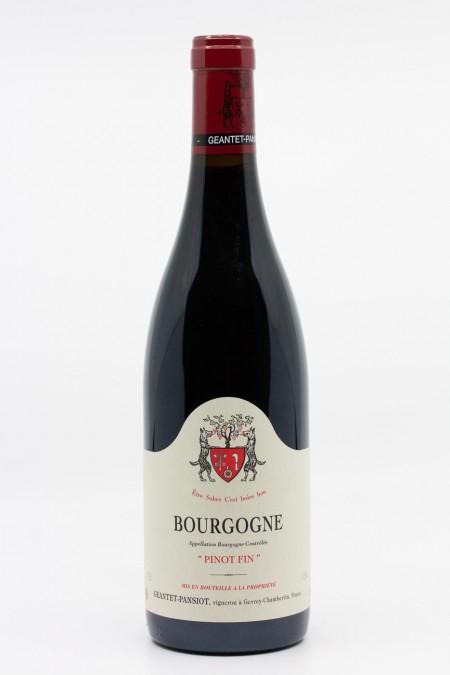 Geantet Pansiot - Bourgogne Pinot Fin 2013