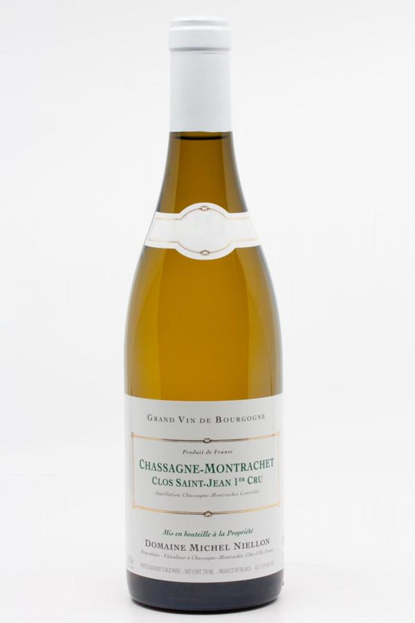 Michel Niellon - Chassagne Montrachet 1er Cru Clos saint jean 2018