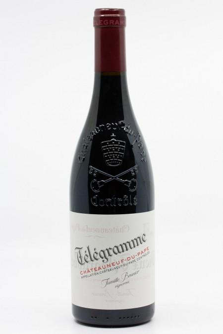 Vieux Télégraphe - Chateauneuf du Pape Télégramme 2017