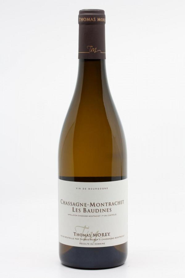 Thomas Morey - Chassagne Montrachet 1er Cru Les Baudines 2017