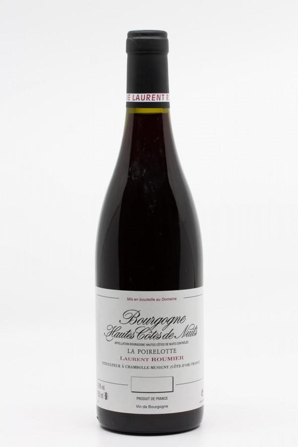 Laurent Roumier - Bourgogne hautes Côtes de Nuits La Poirelotte 2018