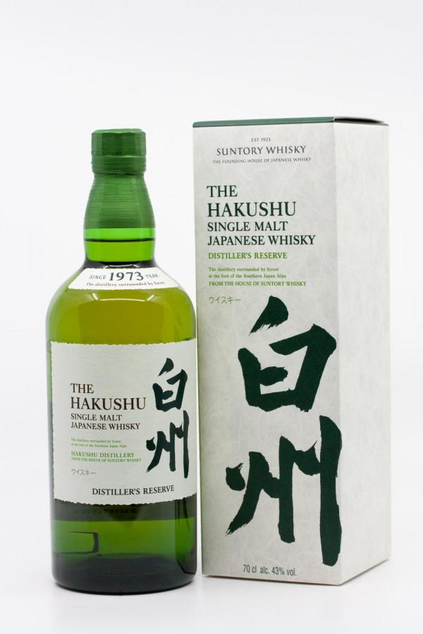 Japanese Single Malt Whisky - Hakushu