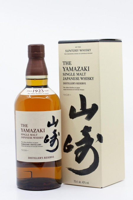 Japanese Single Malt Whisky - The Yamazaki 18 Years Old